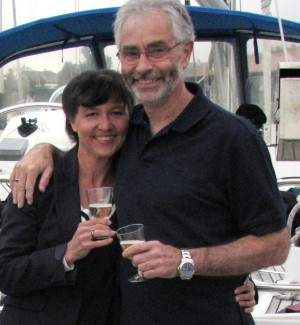 Mari and Ron NW Sailing Adventures Crew - San Juan Island Sailing cruises